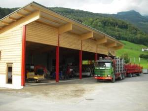 Gebäude Walter Nigg Seilbahntransporte